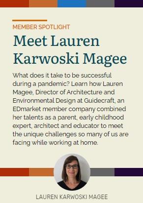 Lauren featured in Essentials Magazine Member Spotlight