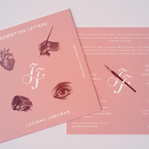 CD Release Handwritten Letters
