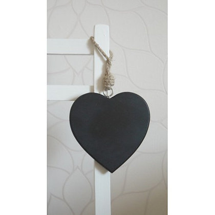 Wedding Hanging Chalk Board Heart