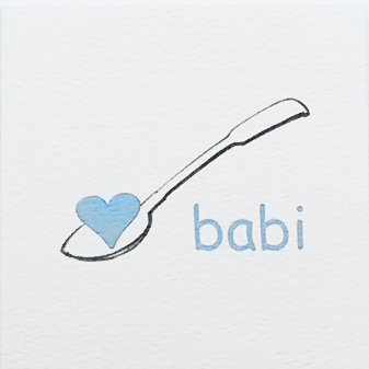 Babi Lovespoon Card Small