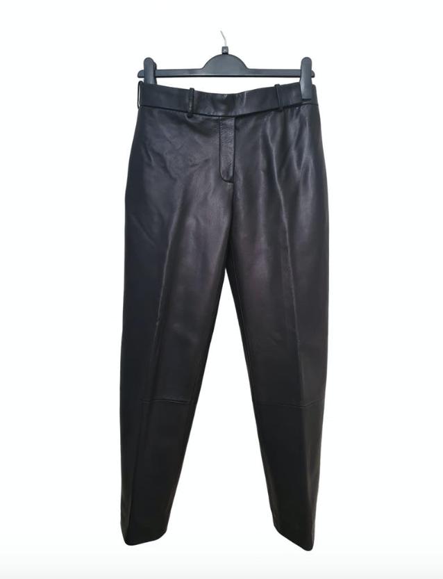 Loewe Black Leather Trouser