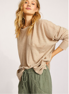 Free People Recycled Cashmere Jumper