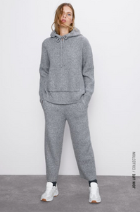 Zara Join Life Knit Jogging Trousers