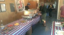 people enjoying the food