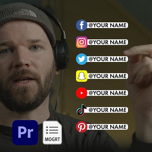 Social Media Callout MOGRT