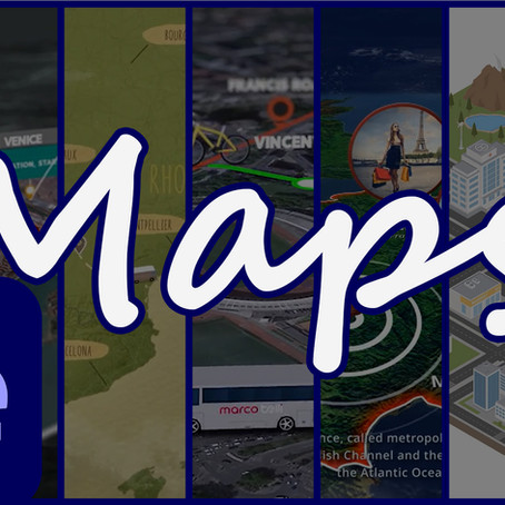 Map Creation Tools for Adobe After Effects 2021