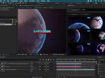 Work Faster with Motion Array's Extension for Adobe (AD)