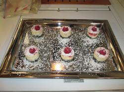 White chocolate cheesecake (1st)