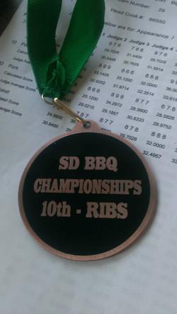 Huron SD 2014 10th Ribs