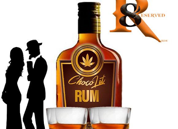 ChocoLit Rum (200ml Non-Alcoholic & Non-Delta8) CBD 1,200mg)