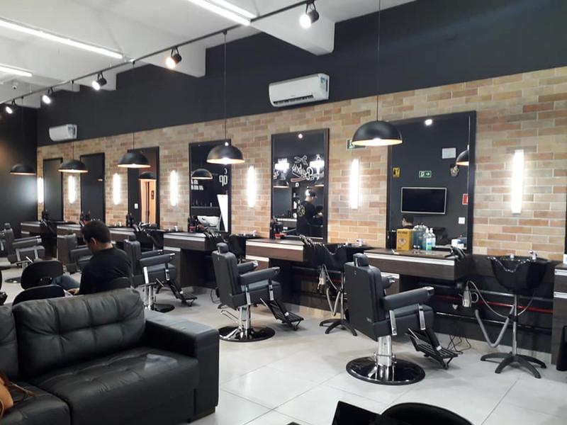 Escola de barbeiros Lapa