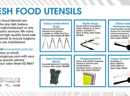 Fresh Food Utensils
