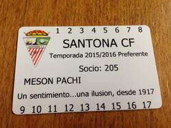 Soci@s  Santoña CF 2015-2016