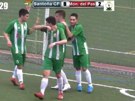 El Santoña CF no pudo con el CD Montañas del Pas 0-3