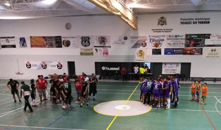 EL BM Santoña pierde en un apasionante partido de Copa ante el BM Torrelavega 26-27