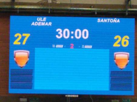 Derrota de un gol en León 27-26