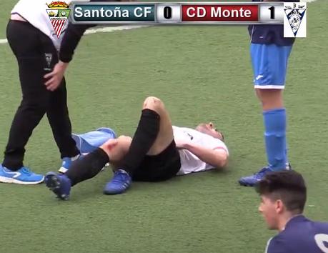El Santoña CF suma otra derrota en el descuento 0-1