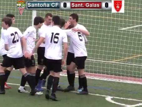 Estreno con victoria del Santoña  1-3