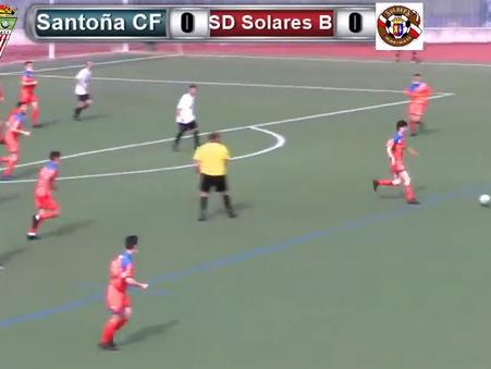 El Santoña CF certificó su descenso a 2 Regional