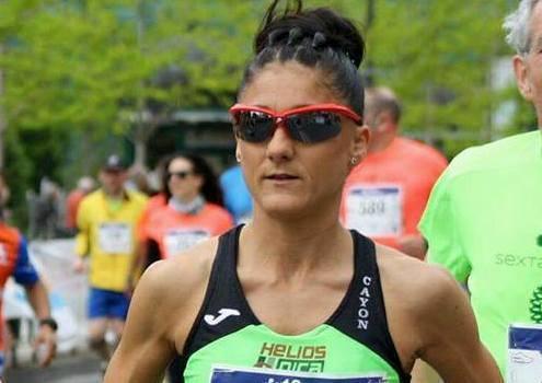 Dolores Marco ganadora de la Maratón Nocturna de Bilbao