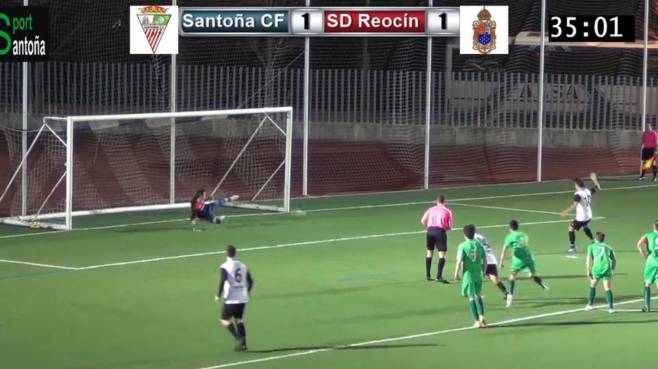 Sufrida victoria del Santoña CF