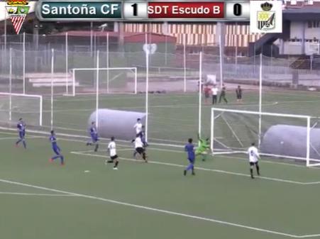 El pundonor del Santoña CF otorga la victoria 2-0