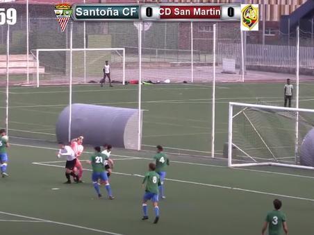 El Santoña CF suma su primer punto 0-0
