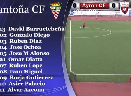 Empate en El Paloma Santoña CF 0-0 Ayrón Club