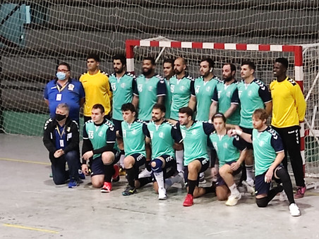 El BM Santoña cierra el año con victoria en Valladolid 28-34