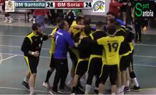 Derrota ante BM Soria un rival directo 24-25