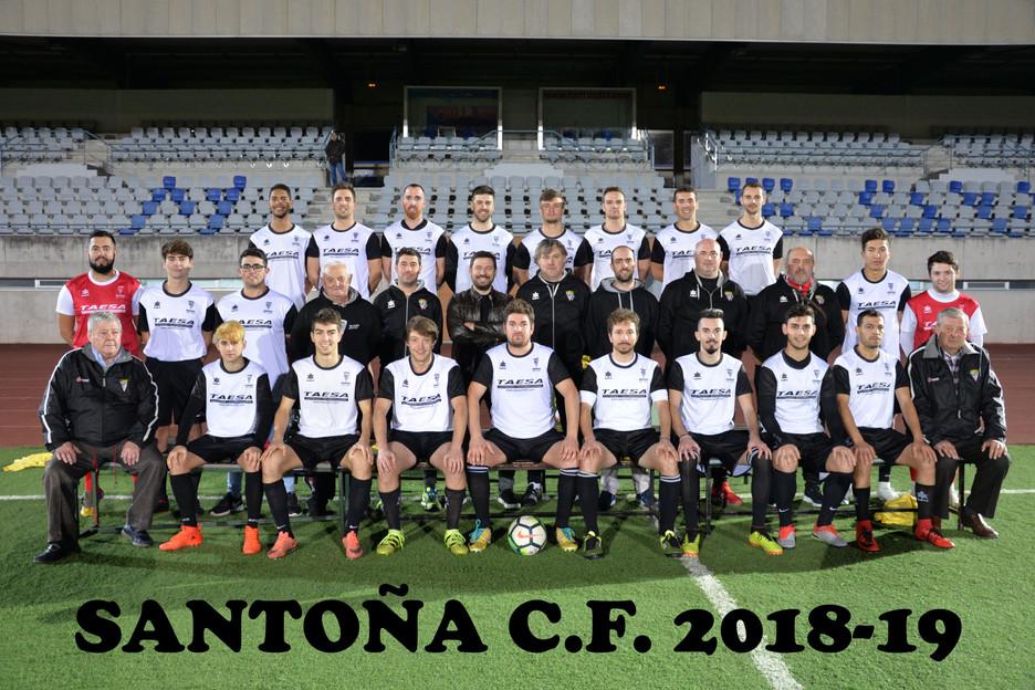 El Santoña CF cierra con victoria la primera vuelta y el año 2018