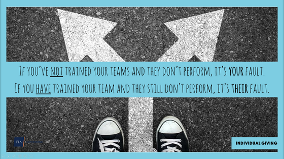 #72 If you're not training your team, who is?