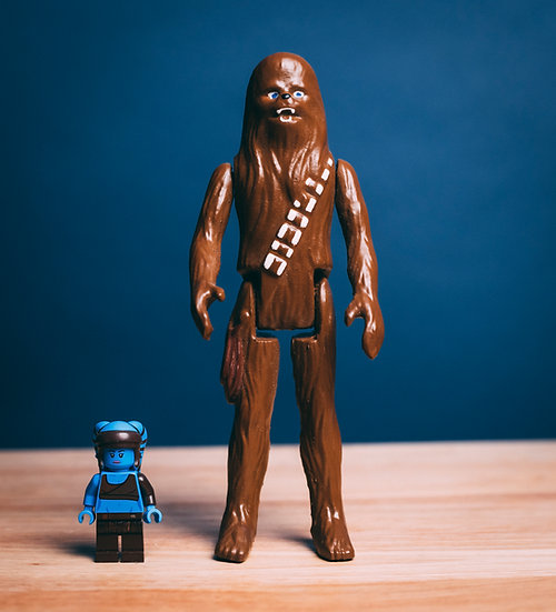 6'' Vintage Star Wars Chewbacca