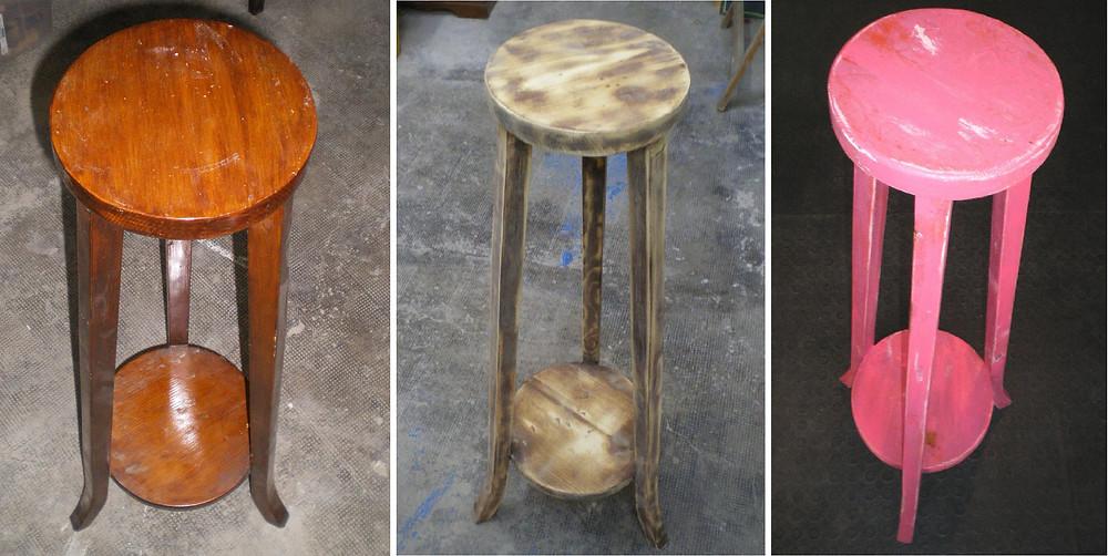 restauració, customització, reciclatge creatiu