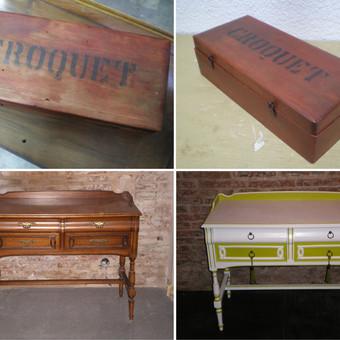 CURS de Restauració i Customització de mobles