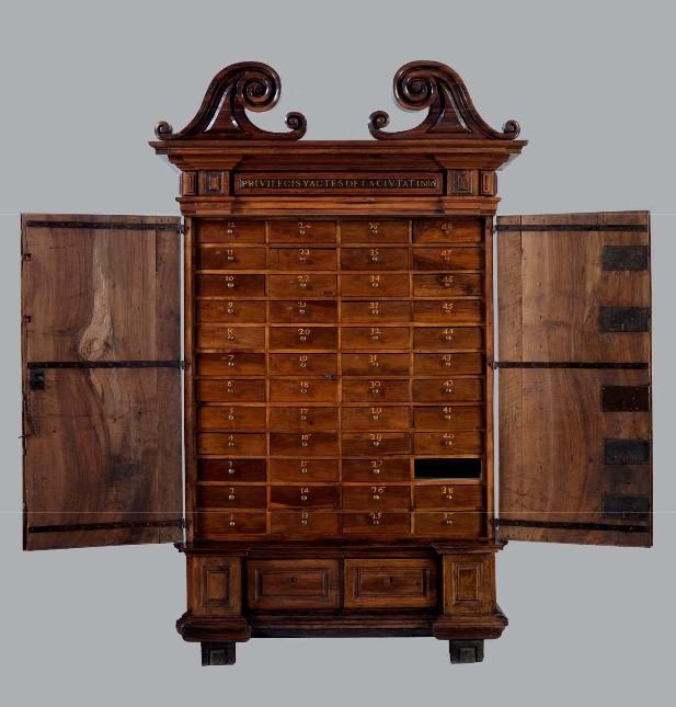 Armari de les cinc claus 1686 ( CRBMC)