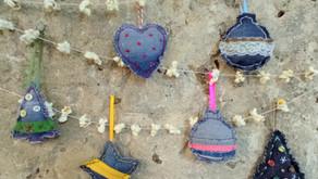 Taller de Nadal 2021: Ornaments amb roba texana