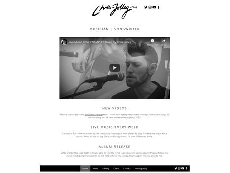 New Website Now Live