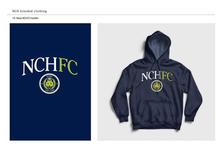 Navy NCHFC hoodie