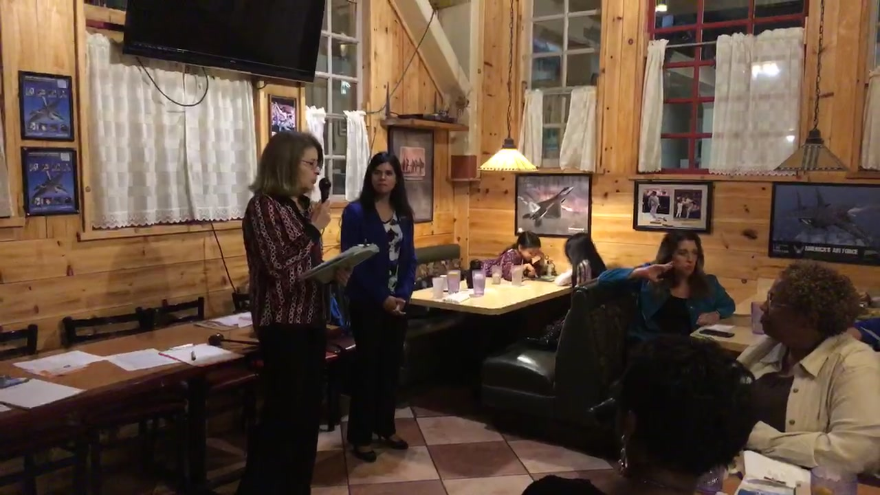 Honored to introduce myself to the Clovis Democratic Club and announce my campaign for Assembly District 23.