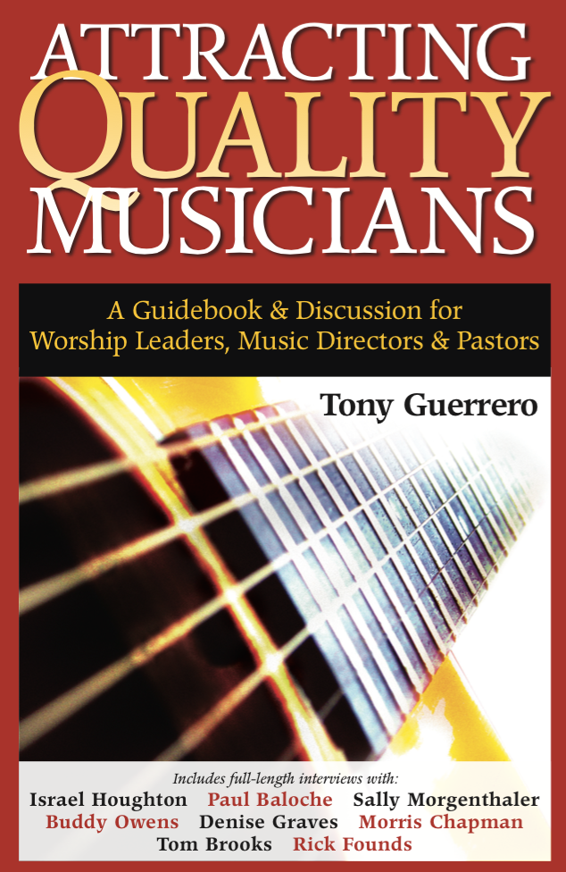 Attracting Quaity Musicians Book Cover