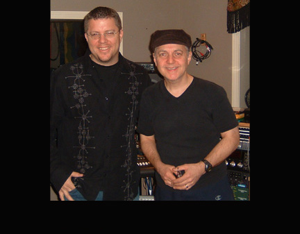 Recording w/ Phil Keaggy