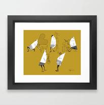 Framed Art Prints (w/ Frame Style Options)