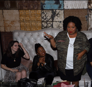 """Pinkhouse at wrap party and private screening of """"Juicy Ladies"""""""