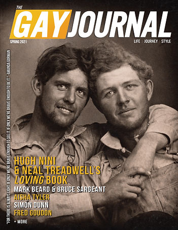 The Gay Journal Cover Spring 2021 Issue.