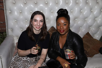 Pinkhouse at wrap party and private screening of Juicy Ladies