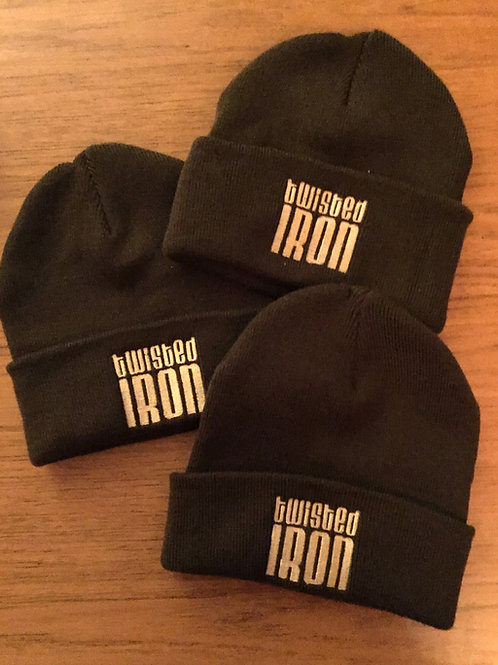 Twisted Iron Beanie Hat