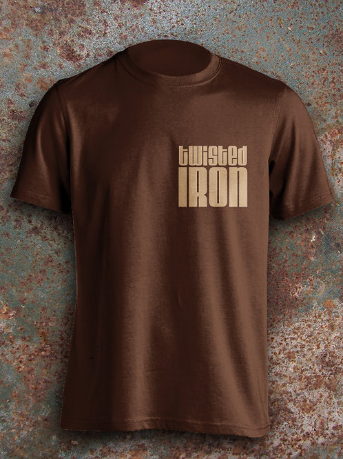Twisted Iron Men's T-Shirt Small Logo