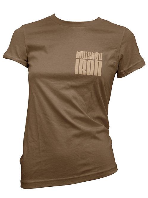 Twisted Iron Women's T-Shirt Small Logo
