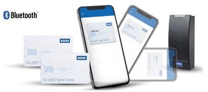 Control de acceso HID-Mobile-Access, bluetooth, SEOS, Tarjetas Iclass Lectoras HID Mobile